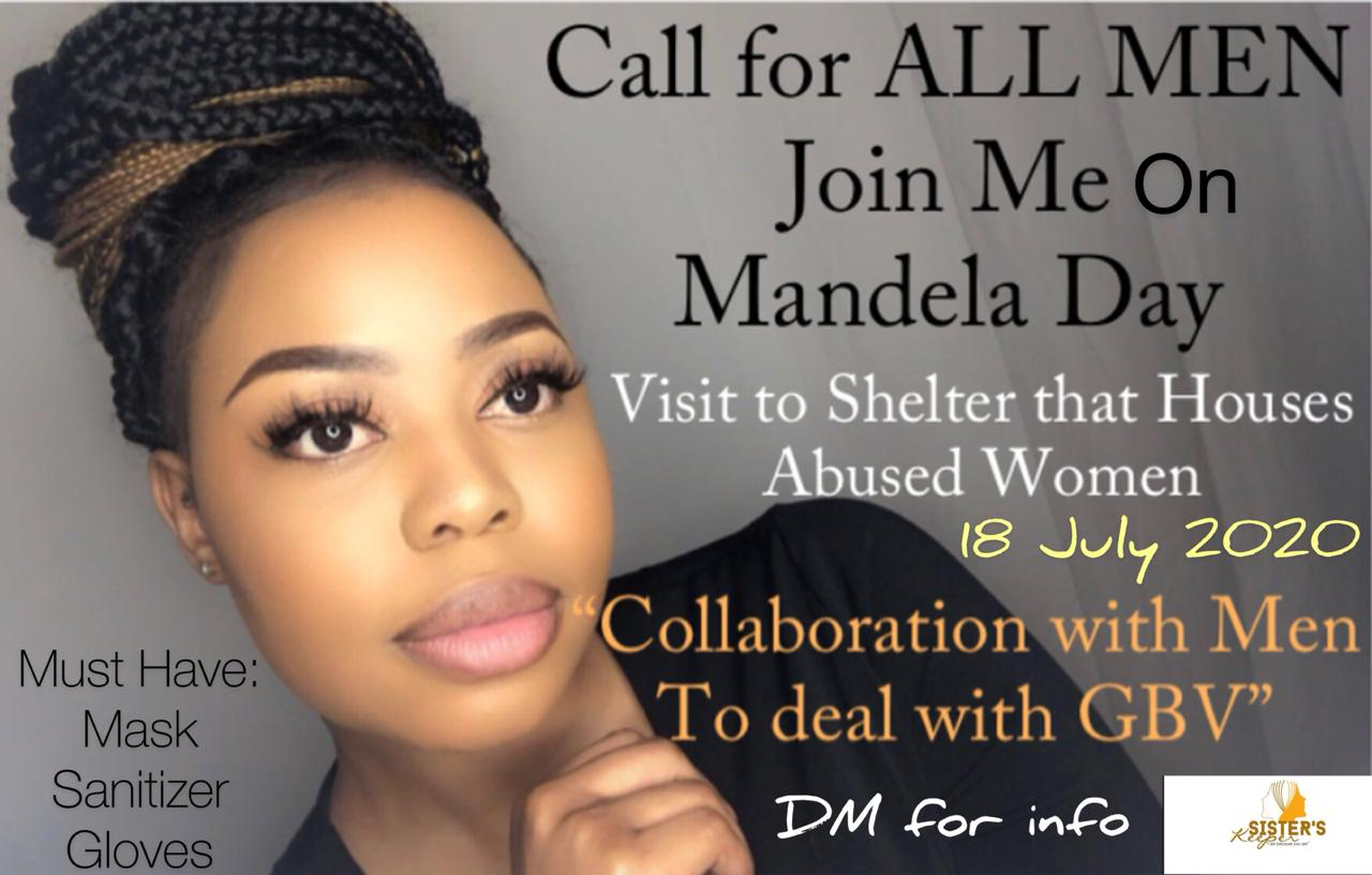 Call All Men Mandela Day 2020